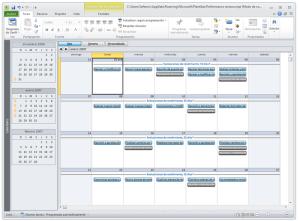 gp4us - Microsoft Project - Calendario