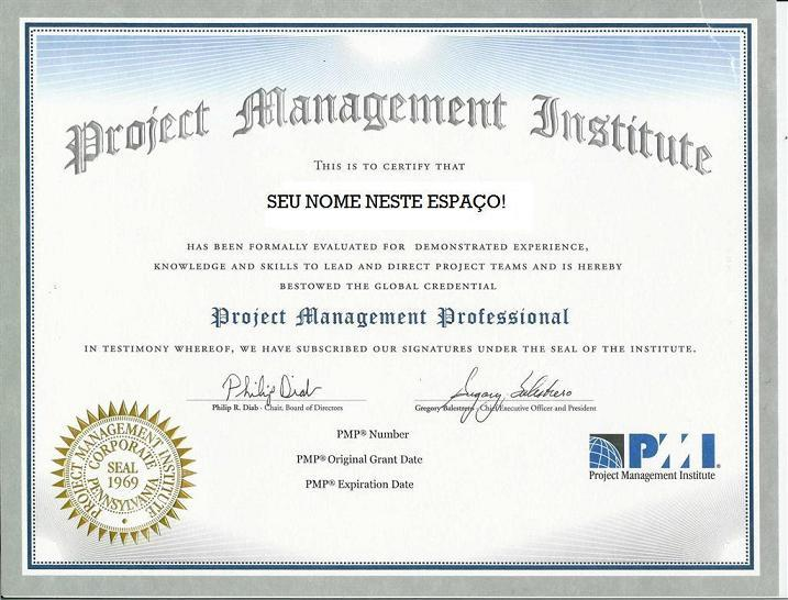 Testes para a prova de certificação PMP