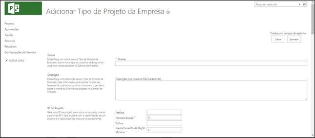 Microsoft Project PPM - Configurando o ambiente