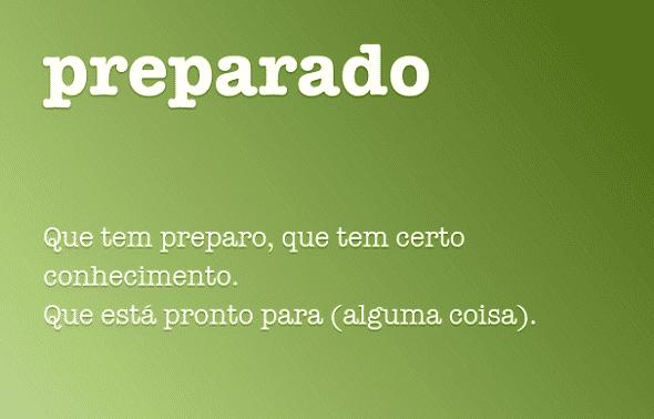 Definição de Preparado